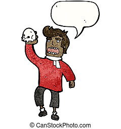 cartoon shakespeare actor