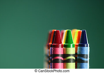 Colorful Back to School Crayons - Back to School Crayons...