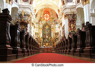Durnstein Abbey Stift Durnstein - A beautiful Church inside...