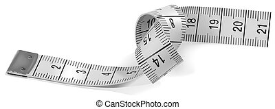 Tape Measure - colored illustration