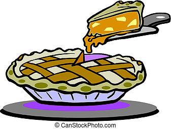 cake and cake slice