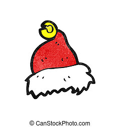 cartoon christmas hat