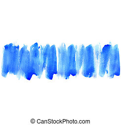 Abstract watercolor hand painted