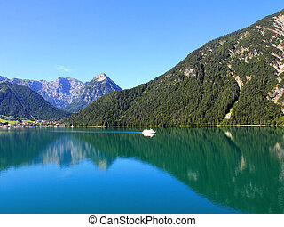 Achensee Lake in Tirol, Austria - Peaceful view of the...