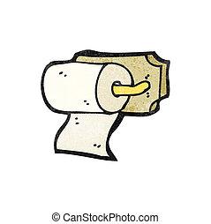 loo roll holder cartoon