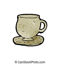 cup and saucer cartoon