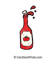 cartoon ketchup