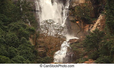 Waterfall Nuwara Elia. - Waterfall in Nuwara Eliya, Sri...