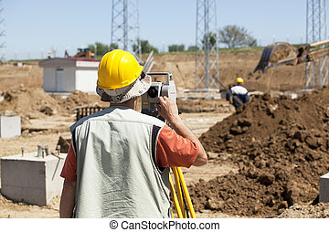construction site - Engineer on construction site