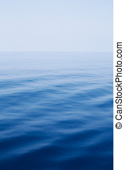 blue ocean sea water background