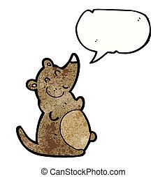 fat cartoon rat