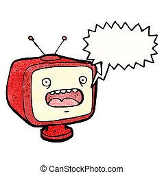 talking television cartoon character