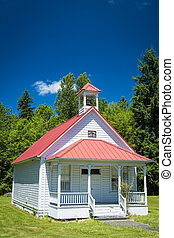Old one-room country school house