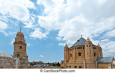 Dormition - Church of Dormition and Bell-Tower on Mount Zion