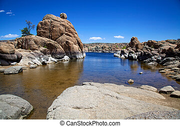 Watson Lake, Prescott Arizona - beautiful granite rock...