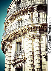 A noble historic house in Marseille in South France