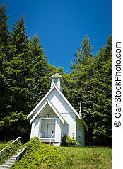Old country church in Oregon