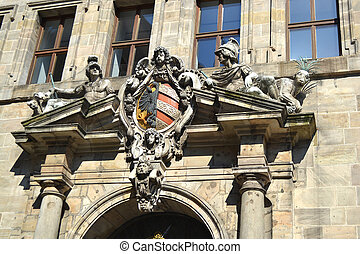 Nuremberg - An image of house in Nuremberg Bavaria Germany