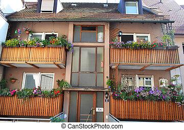 Nuremberg - An image of house in Nuremberg Bavaria Germany