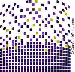 Purple simple mosaic background