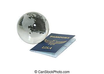 World travel - Blue passport needed when traveling between...