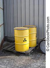 abandoned radioactiv waste