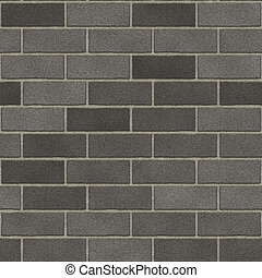 Seamless Brick Wall - This brick wall texture tiles...