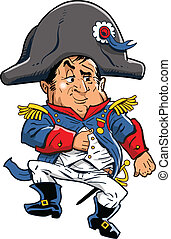 Napoleon - Cartoon Illustration of Napoleon
