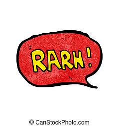 comic book roar