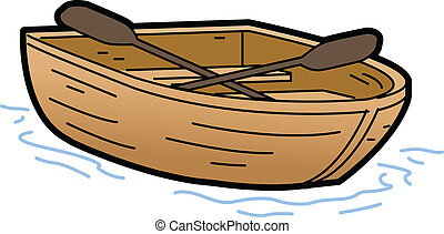 Rowboat Illustration