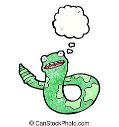 卡通, 響尾蛇