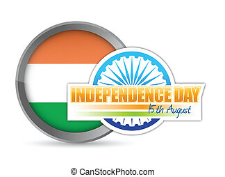 indian flag. independence day