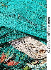 Fishing nets - Bunch of fishing nets