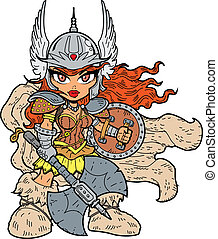 Warrior Princess - Tough Sexy Anime Manga Warrior Princess...
