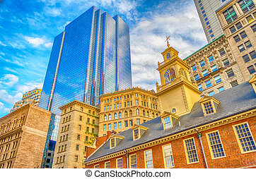 Old State House, Boston - Old State House, Historic Building...