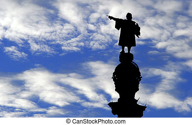 Christopher Columbus - A Statue of Christopher Columbus...