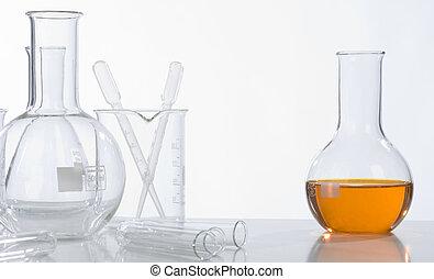 Glass laboratory equipmen