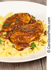 Chicken Marsala with Mushrooms - Delicious old Italian...