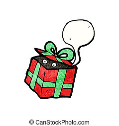 surprise christmas present cartoon