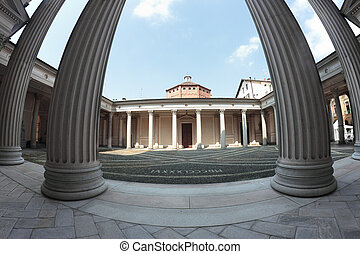 Novara baptistery, Italy - the early Christian Battistero...