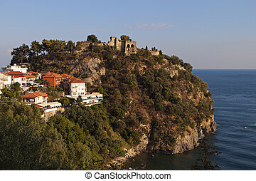 Parga town in Greece - Parga town and the Venetian castle...
