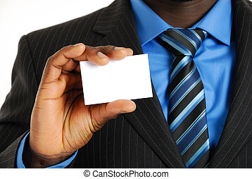 Business man with busines - This is an image of a business...