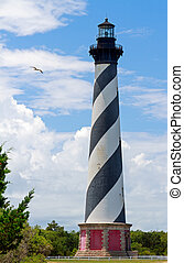 Lighthouse on Cape Hatteras - The Cape Hatteras Lighthouse...