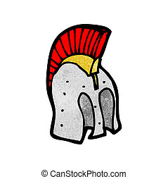 cartoon helmet