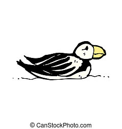 puffin cartoon