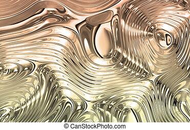 Precious Metal Texture - Precious Liquid Metal Wild Clean...