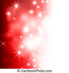 red Christmas background bokeh