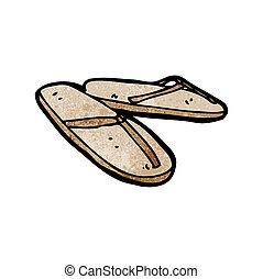 cartoon sandals