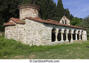 Byzantine church - Orthodoxe Monastir of Zvernetsi, Narte,...