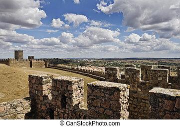 medieval, paredes